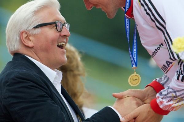 Siegerehrung Frank W. Steinmeier EM 2014/ Foto: Camera4