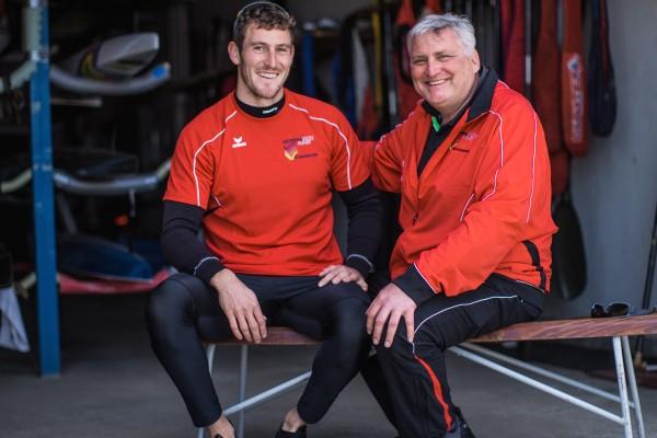 Trainer Ralph Welke & Sebastian Brendel / Foto:Georg Roske